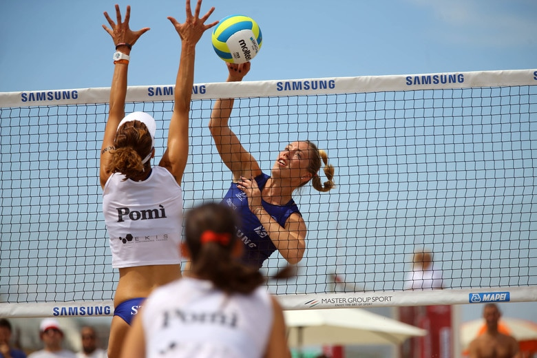 Sara Loda al Lega Volley Summer Tour